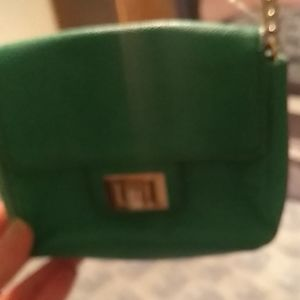 Juicy couture over-the-shoulder little clutch